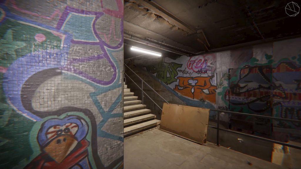 Worringer Platz Virtual Reality Umgebung