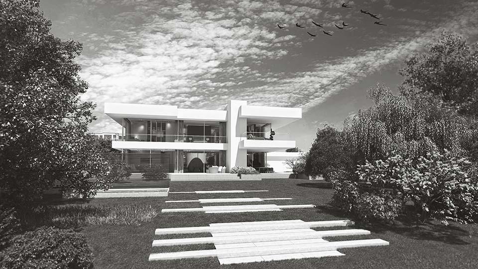 Architektur 3D Visualisierung Exterieur 960