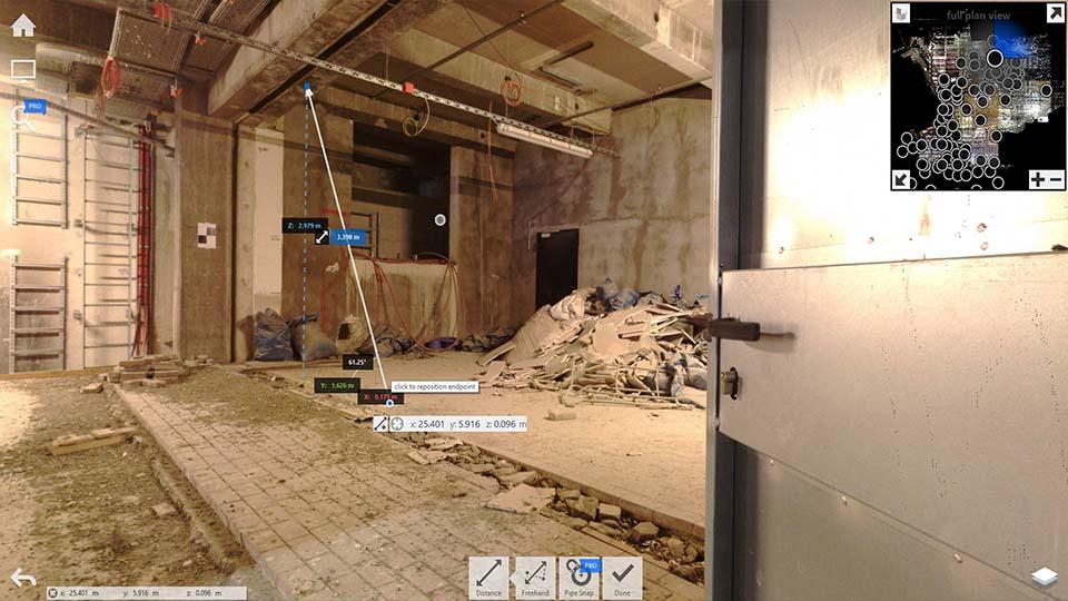 3D-Bestandsdokumentation 360 Grad Foto