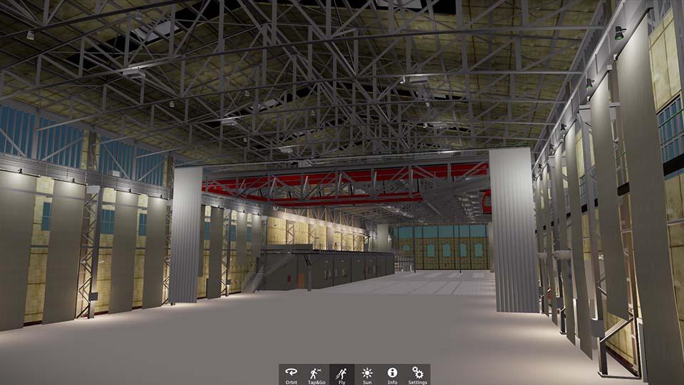 Kraftzentrale Revit Live BIM Visualisierung 960