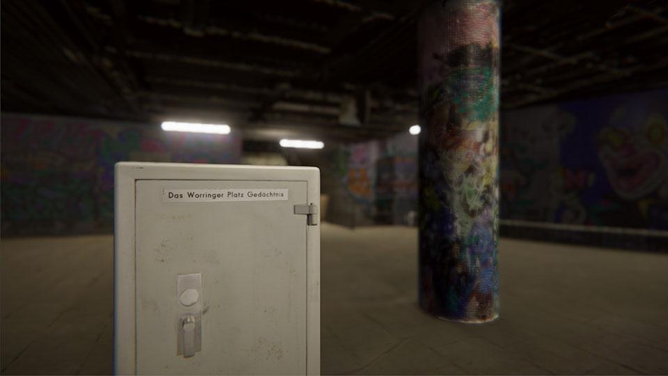 Worringer Platz Underground VR Virtuelles Museum