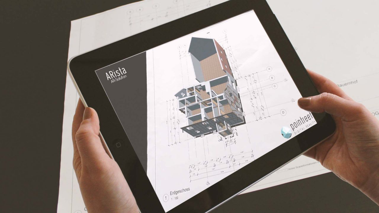 ARista Augmented Reality BIM Lösung