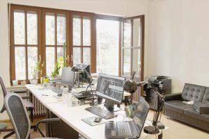 pointreef büro office Graf Recke Straße Düsseldorf