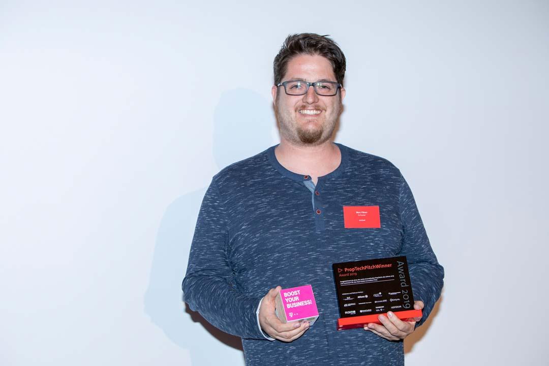 pointreef - hier Marc Flören - gewinnt Telekom Techboost Förderung