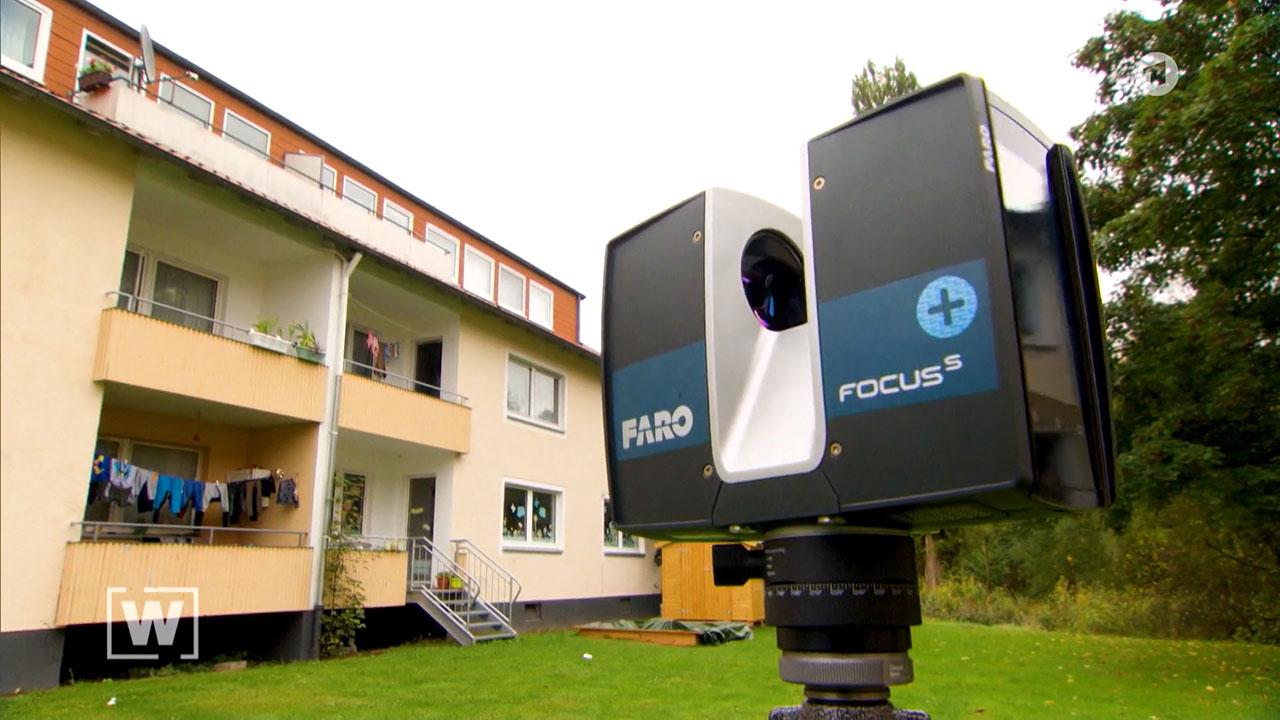pointreef 3D Laserscan Faro W Wie Wissen ARD