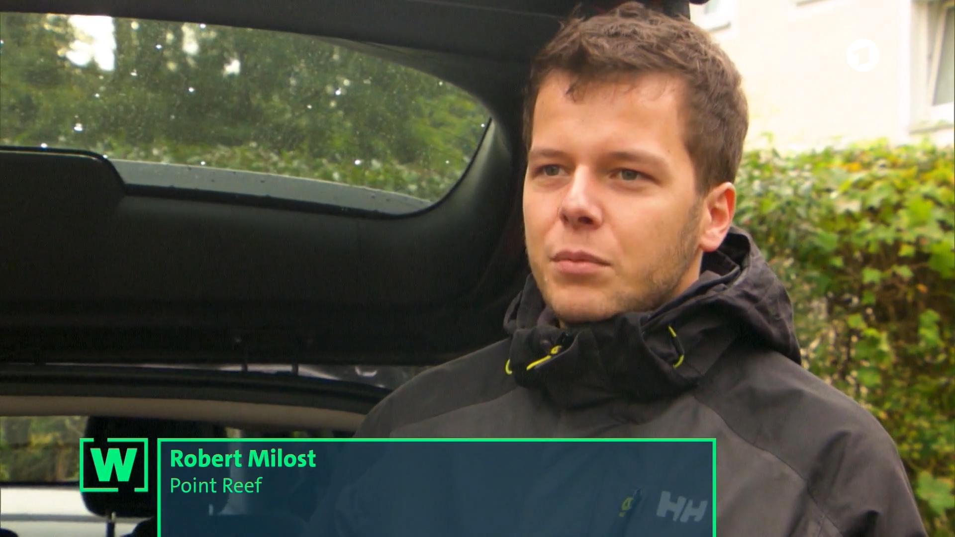 Robert Milost pointreef W Wie Wissen ARD