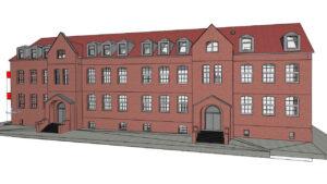 IMD Gesamtschule Emschertal Digitaler Zwilling 3D Architekturmodell